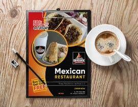 Nro 354 kilpailuun Build me a flyer, buy one get one free coupons.  Three tacos for the price of two.  Taco Tuesday 50%. käyttäjältä abasak2010