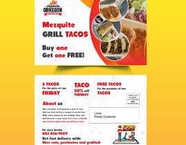 Nro 360 kilpailuun Build me a flyer, buy one get one free coupons.  Three tacos for the price of two.  Taco Tuesday 50%. käyttäjältä Almasud1196