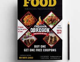 Nro 370 kilpailuun Build me a flyer, buy one get one free coupons.  Three tacos for the price of two.  Taco Tuesday 50%. käyttäjältä sharifulislam405