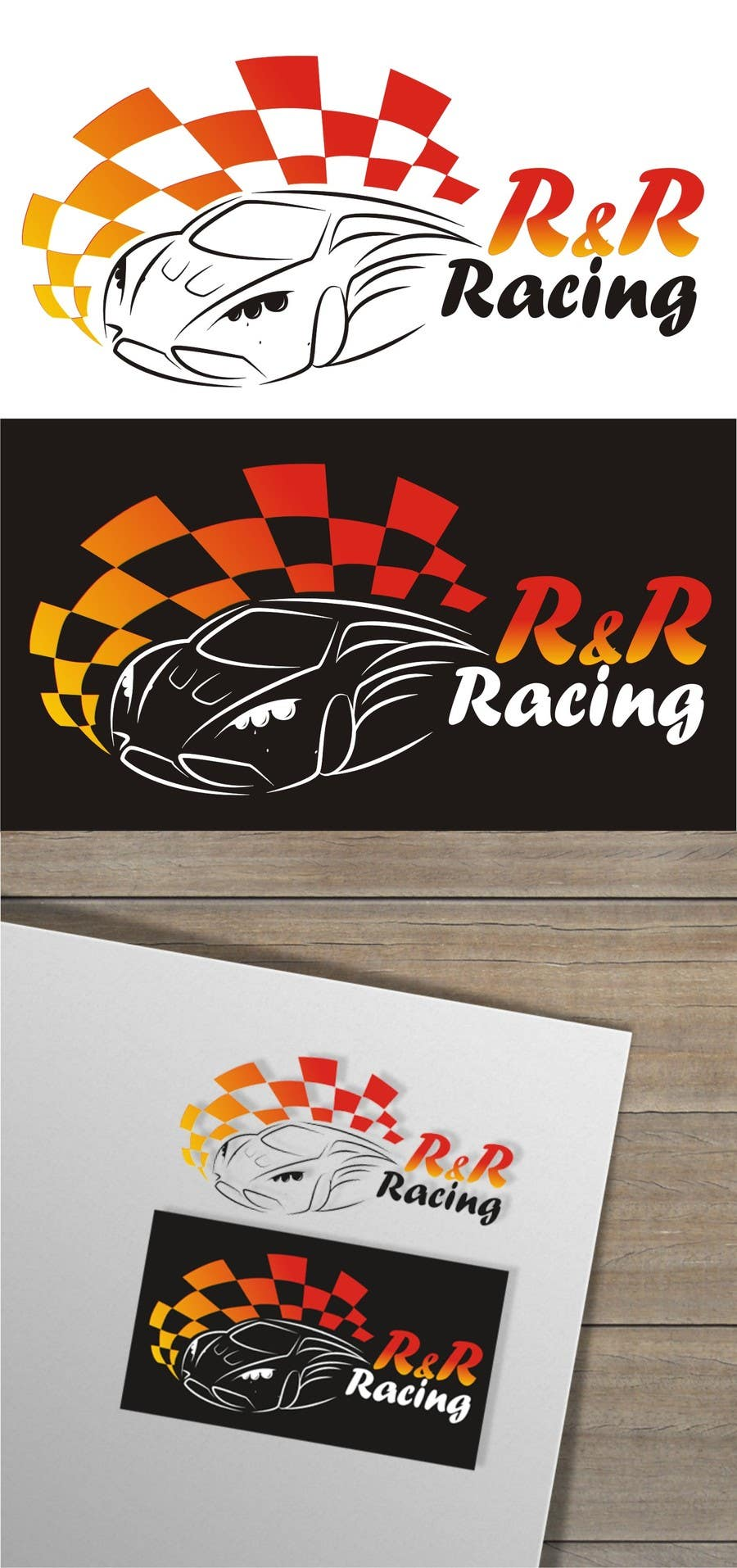 Konkurrenceindlæg #                                        8                                      for                                         Design a Logo for R & R Racing