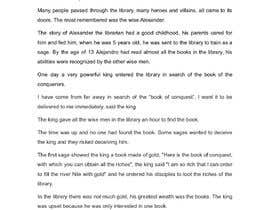 #23 cho Write a short story related to the destruction of the Ancient Library of Alexandria bởi lealjulian0108