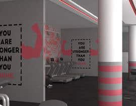 nº 9 pour MDC FITNESS CENTER 3d design par medofifa82