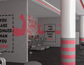 nº 10 pour MDC FITNESS CENTER 3d design par medofifa82