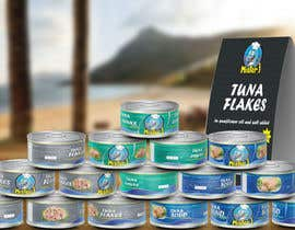 #16 untuk Canned tuna label and poster design. oleh rabdurahmanov