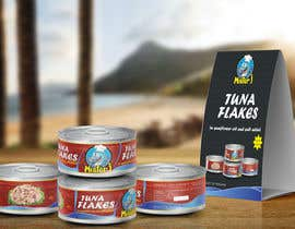 #19 untuk Canned tuna label and poster design. oleh rabdurahmanov