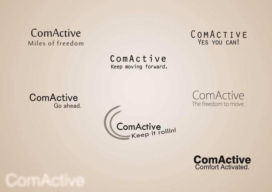 "#22 for Develop a ""tag line"" for Com Active by ReenBarrera"