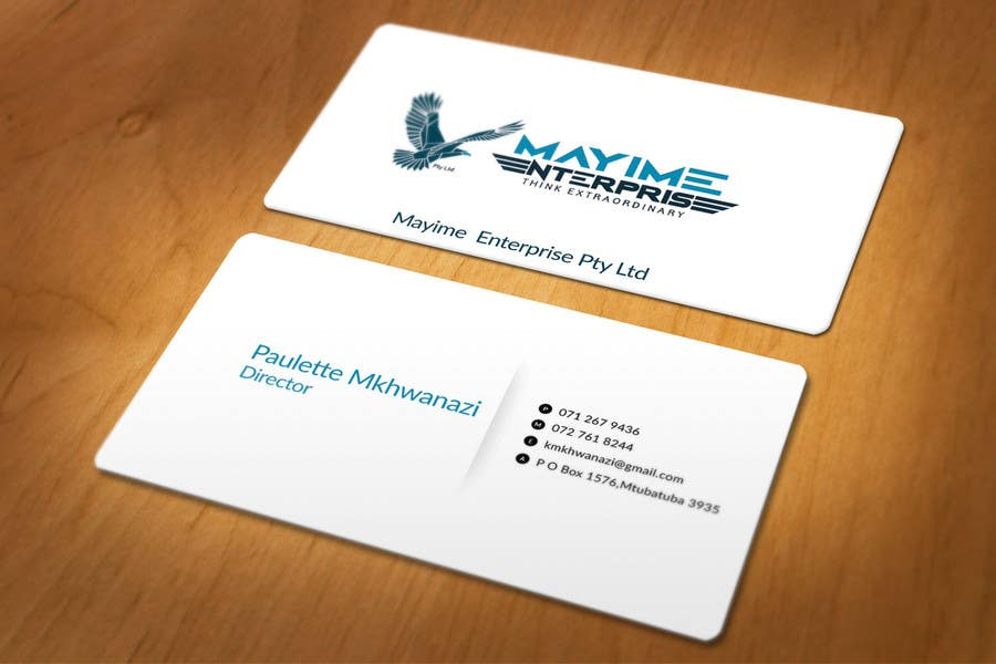 Contest Entry #                                        24                                      for                                         Design a business card for a holding company