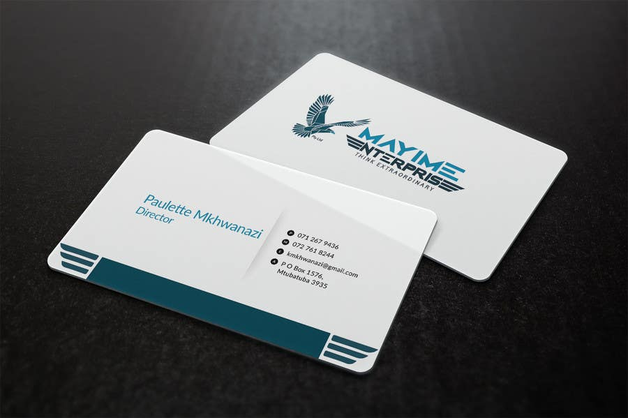 Contest Entry #                                        25                                      for                                         Design a business card for a holding company