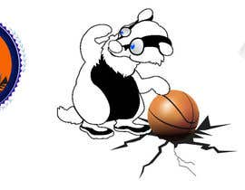#27 for Honey badger basketball logo af alidicera