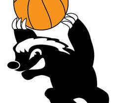 #9 for Honey badger basketball logo af tjayart