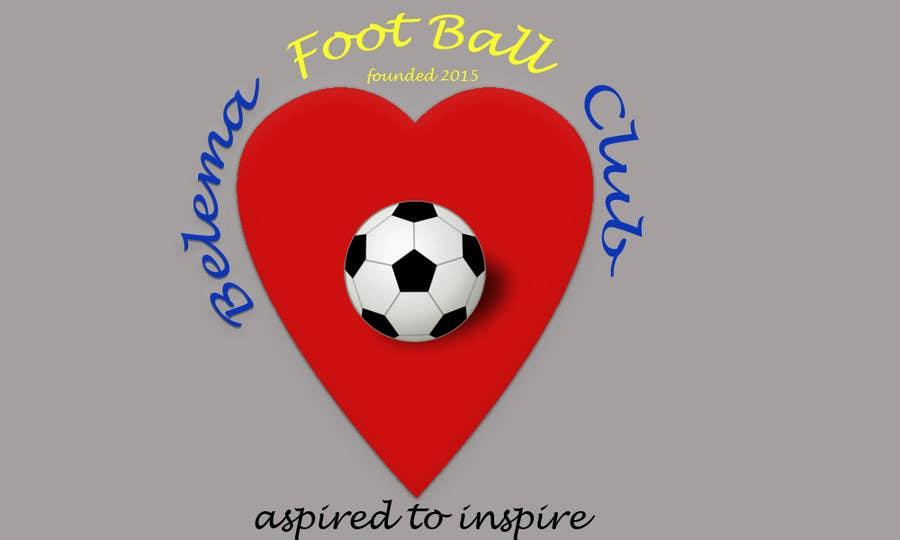 Kilpailutyö #7 kilpailussa Design a Logo for football club