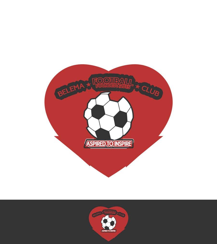 Kilpailutyö #18 kilpailussa Design a Logo for football club
