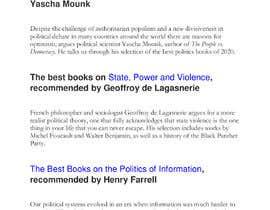 #28 untuk Book recommend oleh antormondol78