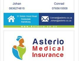 nº 6 pour Design a letterhead and business cards for a medical insurance company par Ramisha16