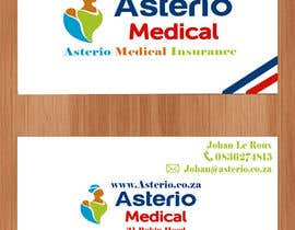 #3 para Design a letterhead and business cards for a medical insurance company por greenraven91