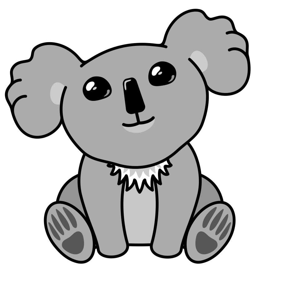 How to Draw a Baby Koala |Cute Baby Koala Leg Drawing