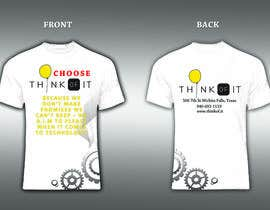#62 cho Design a T-Shirt for Think of IT bởi stevelim995
