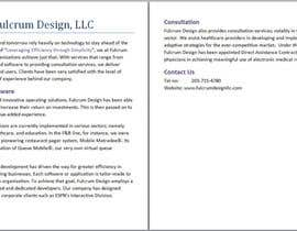 #3 for Draft a dynamic company descriptions by tongliern