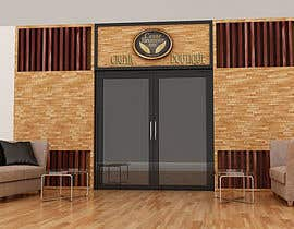 #9 for Front face render of a Cigar Lounge. af giarilham