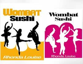 #8 para Design a book cover - Wombat Sushi by Rhonda Louise por aswanthlenin