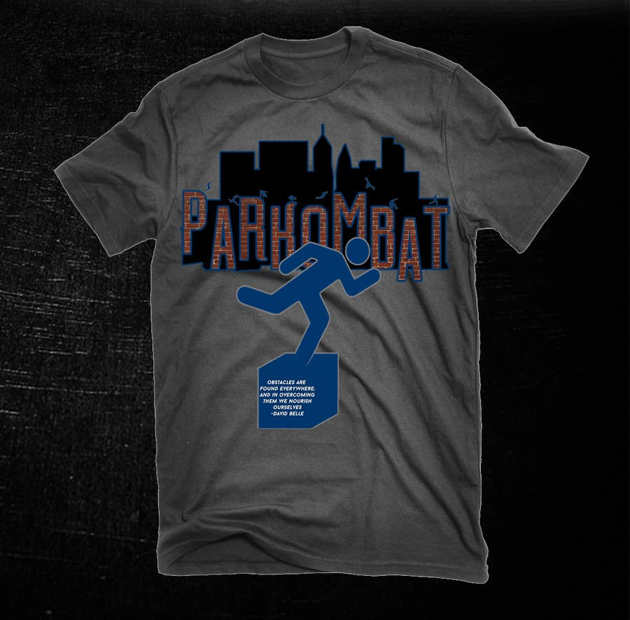 Contest Entry #                                        45                                      for                                         Design a T-Shirt for Parkombat