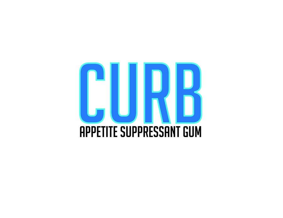 """Kilpailutyö #9 kilpailussa Logo for """"Curb"""" gum"""
