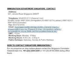 abidasultana2000 tarafından Evidence of Singapore's Entry Date of Malaysia Citizen, Ou Ah Pok on 1982 and 1986 için no 4