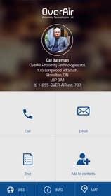 #12 untuk UI/UX Design a Website Mockup for Online Business Cards oleh ankisethiya