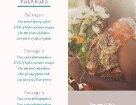 Nro 1 kilpailuun Photography - Videography Price Flyer käyttäjältä AhmadSaleem112