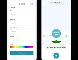 #25 для Complete redesign of mind-mapping mobile application от tanbirpabel