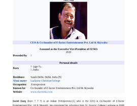 #11 for Need to get a Wikipedia page created af clautenisjunior