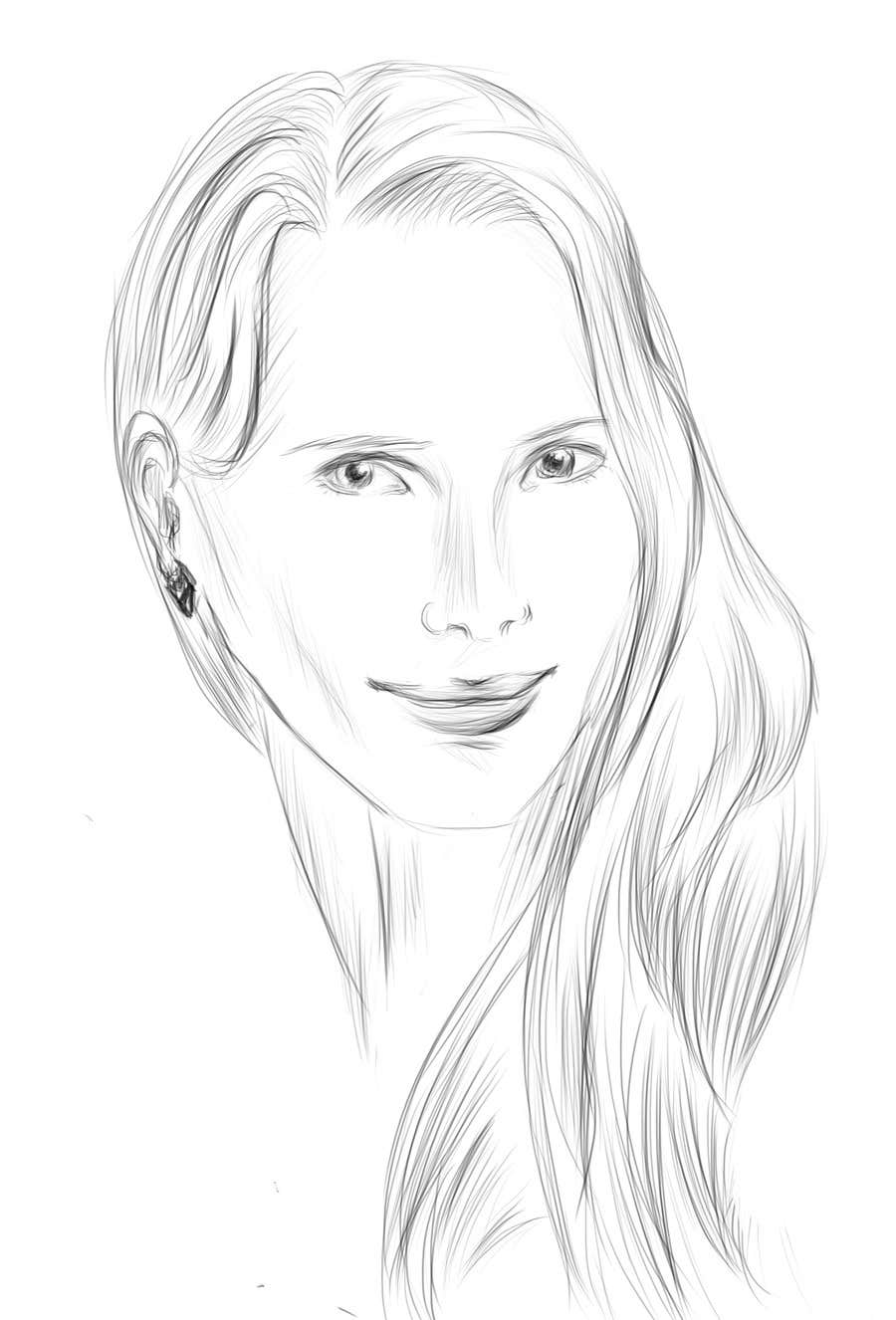Konkurrenceindlæg #8 for Neede:  Avatar Drawing Style of my portrait.