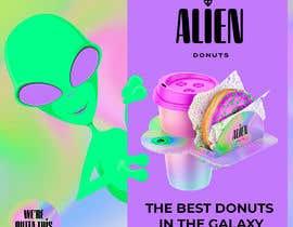 Nro 22 kilpailuun Alien Donuts; Graphic Designer Needed käyttäjältä UdhayasuriyanS