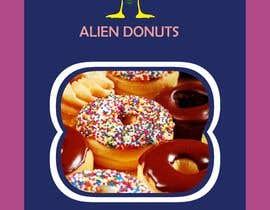 Nro 47 kilpailuun Alien Donuts; Graphic Designer Needed käyttäjältä affanfa