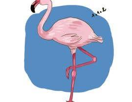 #221 untuk Cartoon Flamingo oleh Khadijaza