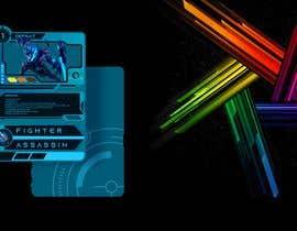 #35 para Card frame design for a sci-fi card game de ariscroot21