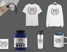 Nro 141 kilpailuun Tshirt, Hat, Sweater, swag designs for Fitness Brand! käyttäjältä mmrathod215