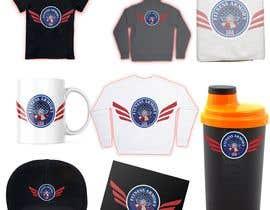 Nro 91 kilpailuun Tshirt, Hat, Sweater, swag designs for Fitness Brand! käyttäjältä Alivista