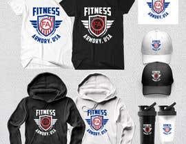 Nro 156 kilpailuun Tshirt, Hat, Sweater, swag designs for Fitness Brand! käyttäjältä Rheanza