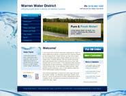 Bài tham dự #3 về Graphic Design cho cuộc thi Design a Website Mockup for Rural Water Company