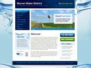 Bài tham dự #4 về Graphic Design cho cuộc thi Design a Website Mockup for Rural Water Company