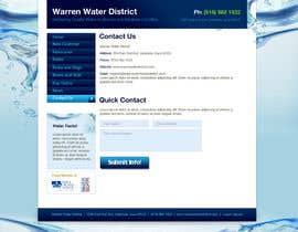 #6 para Design a Website Mockup for Rural Water Company por CreativeDezigner