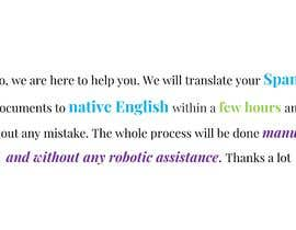 #5 for TRANSLATION FROM SPANISH TO ENGLISN by Amit221007