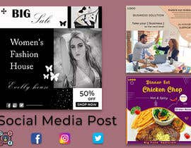 #81 for Social media posts (graphic designer) by BABULKHAN631