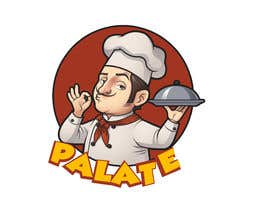 """#63 for Looking for logo..... """" PALATE """" Its a restaurant, here is some reference by ArafaAbdelwahab"""
