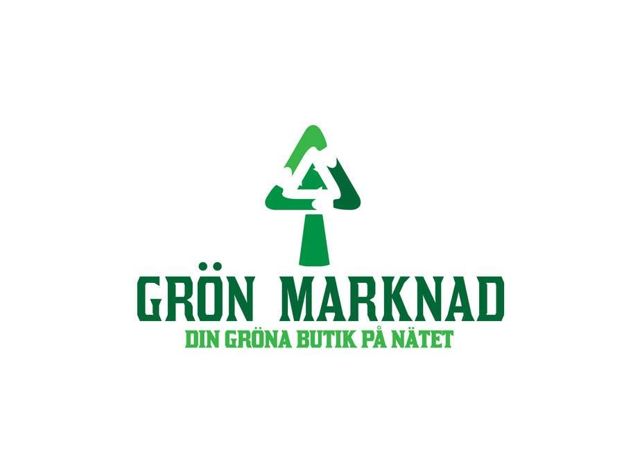 Bài tham dự cuộc thi #15 cho Designa en logo for Gronmarknad.se