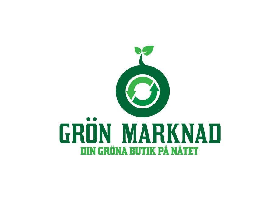 Bài tham dự cuộc thi #17 cho Designa en logo for Gronmarknad.se