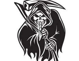 #122 for Vector skull logo design by mohammadakfazlul