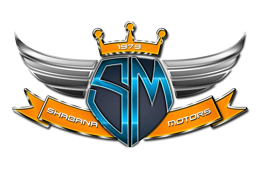 Kilpailutyö #164 kilpailussa Design a Logo for Shabana Motors