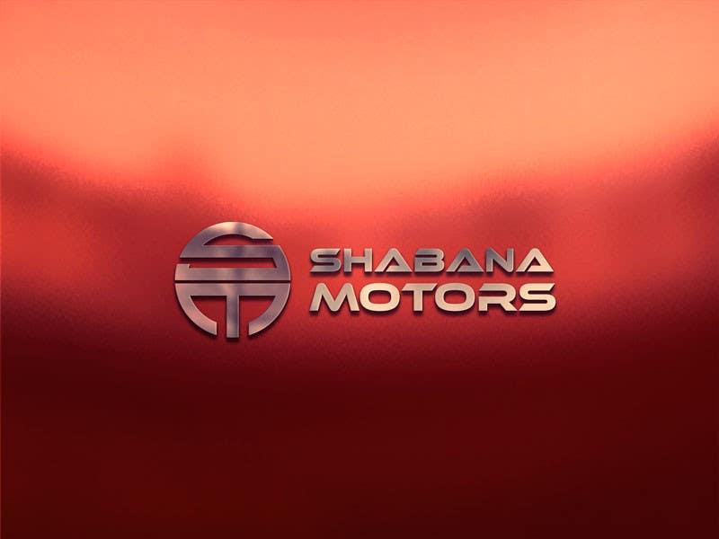 Kilpailutyö #95 kilpailussa Design a Logo for Shabana Motors